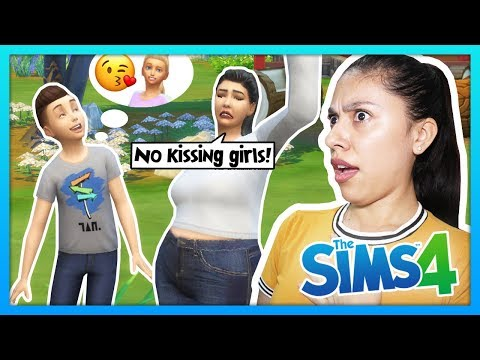 MY SON HAD HIS FIRST KISS! - The Sims 4 - My Sims Life - Ep 35 thumbnail