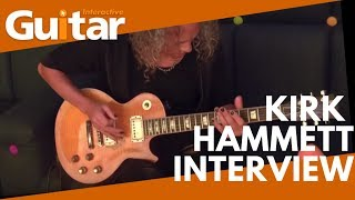 Kirk Hammett chats about his 1959 Les Paul, Worldwired Tour | Guitar Interactive Magazine - Issue 54