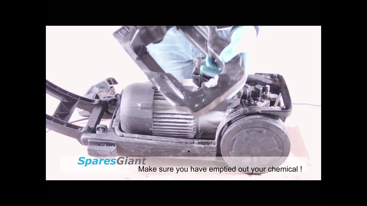 Karcher K620m Pressure Washer Repair YouTube