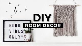 DIY Room Decor Tumblr Inspired! Affordable & Minimal!