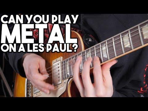 Can you play METAL on a LES PAUL?  | SpectreSoundStudios