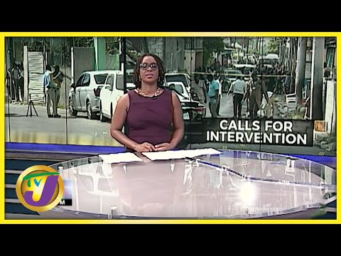 Man Shot in Montego Bay Jamaica | TVJ News - Oct 7 2021