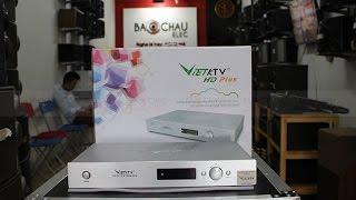 Mở hộp và hướng dẫn sử dụng đầu karaoke VietKTV HD Plus tại Bảo Châu Elec