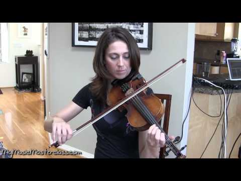 Aubrey Richmond - Transitioning From Violin to Fiddle