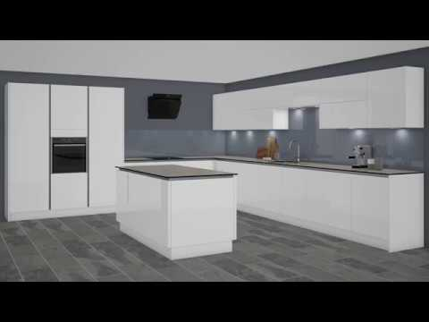 Wickes Intelliga Kitchen Cabinet Installation Youtube