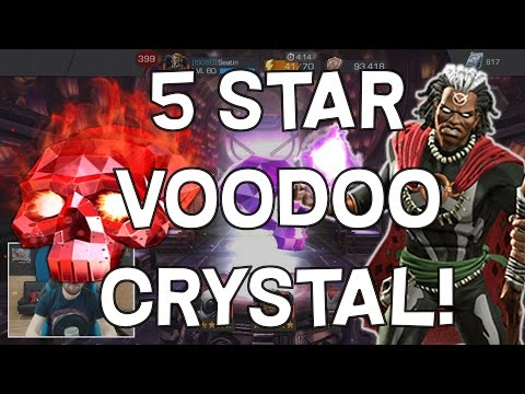 Double 5 Star Voodoo Crystal Opening! - Marvel Contest Of Champions