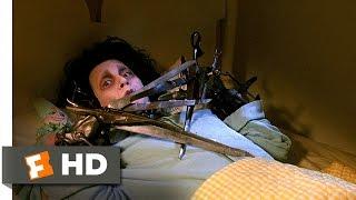 Edward Scissorhands (1990) - Edward Frightens Kim Scene (1/5) | Movieclips