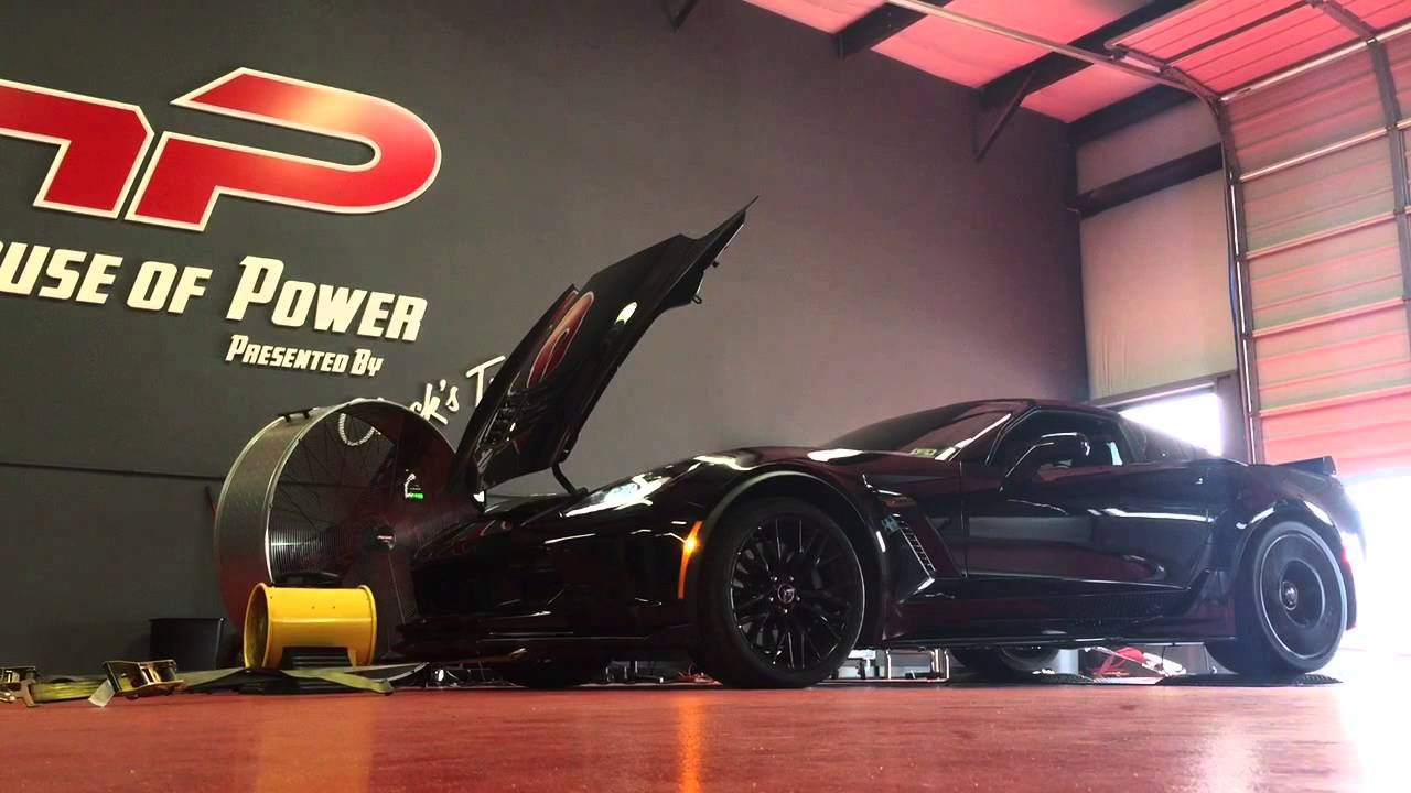 C7 Z06 gains 50 HP and 46 TQ from Texas Speed 2