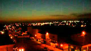 Night time sky view of Hanford California
