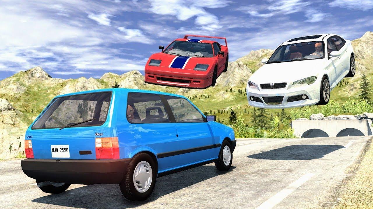 Download Street Racing Crashes #12 - BeamNG Drive   CrashBoomPunk