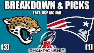Jaguars vs Patriots | AFC Championship Picks