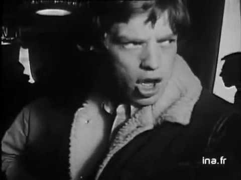 Rolling Stones Interview France 1966 rare audio after 0.50