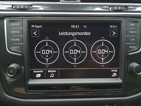 VW Radio Composition Media / Discover Media (2. Gen, MIB2) - Der neue Tiguan