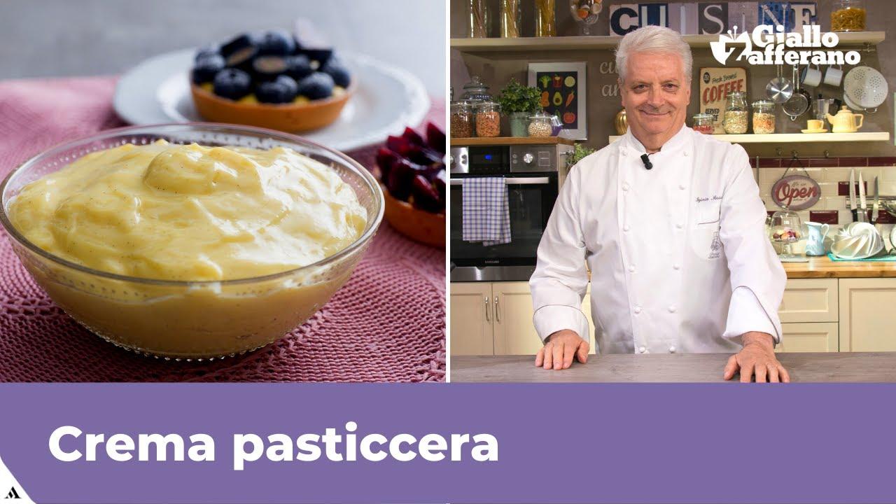 Ricetta Crema Pasticcera Giallo Zafferano Senza Amido.Crema Pasticcera La Ricetta Di Giallozafferano