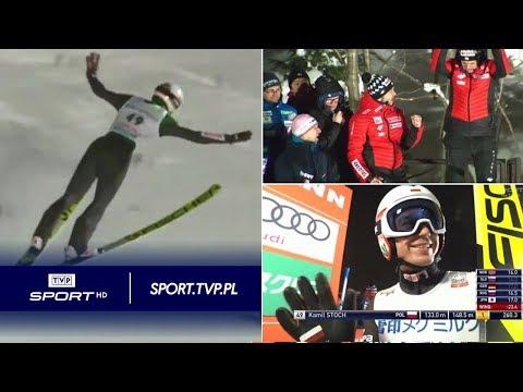 Skoki w Sapporo: genialny lot! Kamil Stoch pobił rekord skoczni (148,5 m)