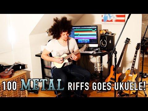 100 Metal Riffs Goes Ukulele!