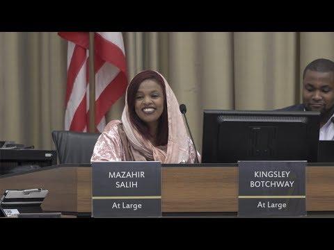 Iowa City In Focus: Mazahir Salih