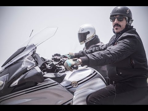 Anthony Kiedis and his RSD BMW R1200RT
