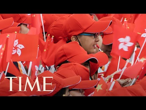 Celebrating The 20th Anniversary Of Hong Kong Handover, Fight For Democracy Still Going On | TIME