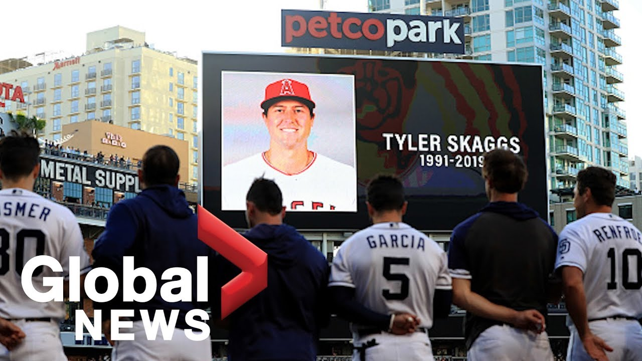 Fans react to death of MLB pitcher Tyler Skaggs