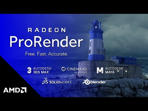Radeon Pro Software: Radeon ProRender, a Powerful Physically-based  Rendering Engine