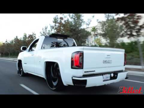 Bagged 2014 GMC Sierra On 30' MTW Billets - Team Billet