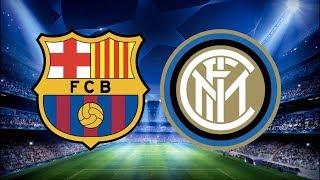 مشاهدة مباراة برشلونة و انتر ميلان بث مباشر دوري ابطال اوروبا  HD