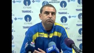 Ionel Gane după Gaz Metan vs Corona Braşov - novatv.ro