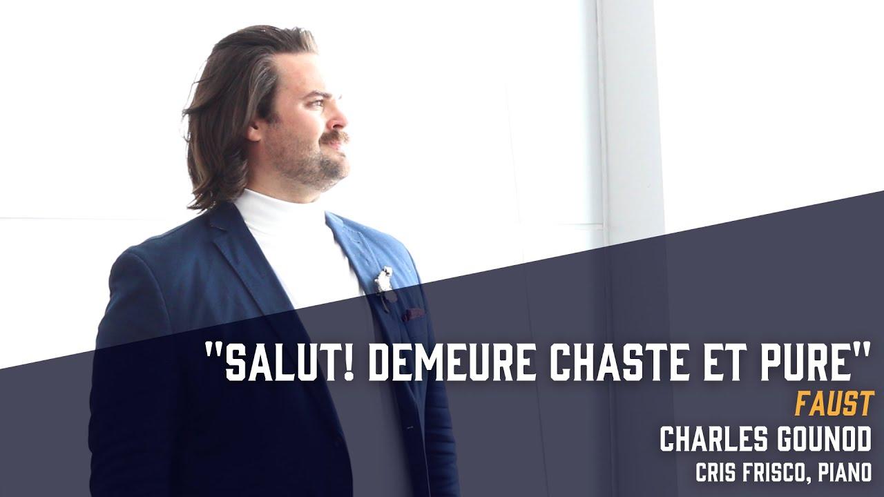 """Salut! demeure chaste et pure"" from Faust (Gounod) - Dane Suarez, tenor"