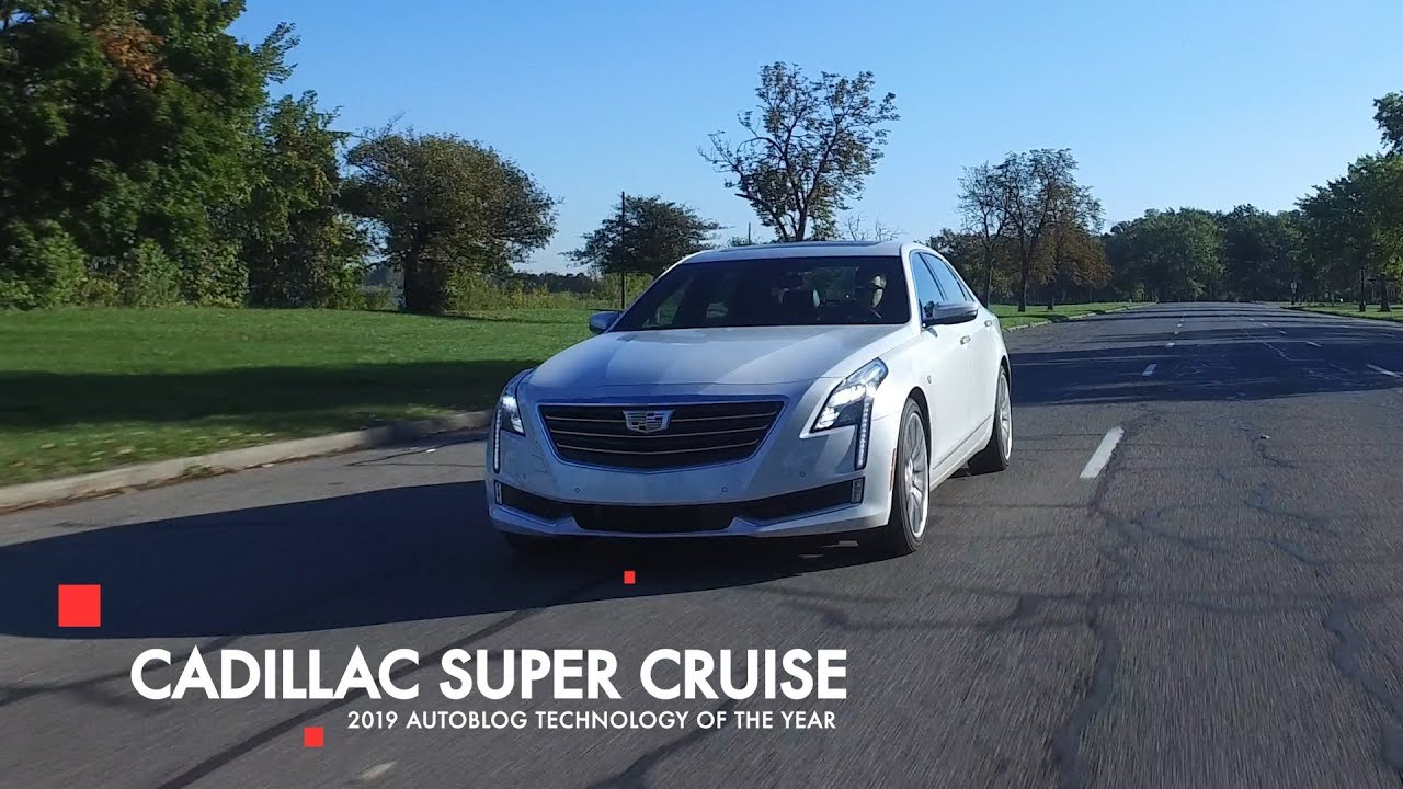 Cadillac Super Cruise 2019 Autoblog Technology Of The Year Winner