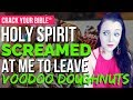 🍩 (Obey Holy Spirit) Demonic Voodoo Doughnut