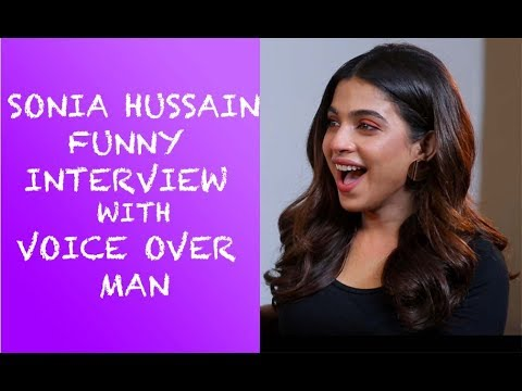 Sonia Hussain Funny Interview with Voice Over Man