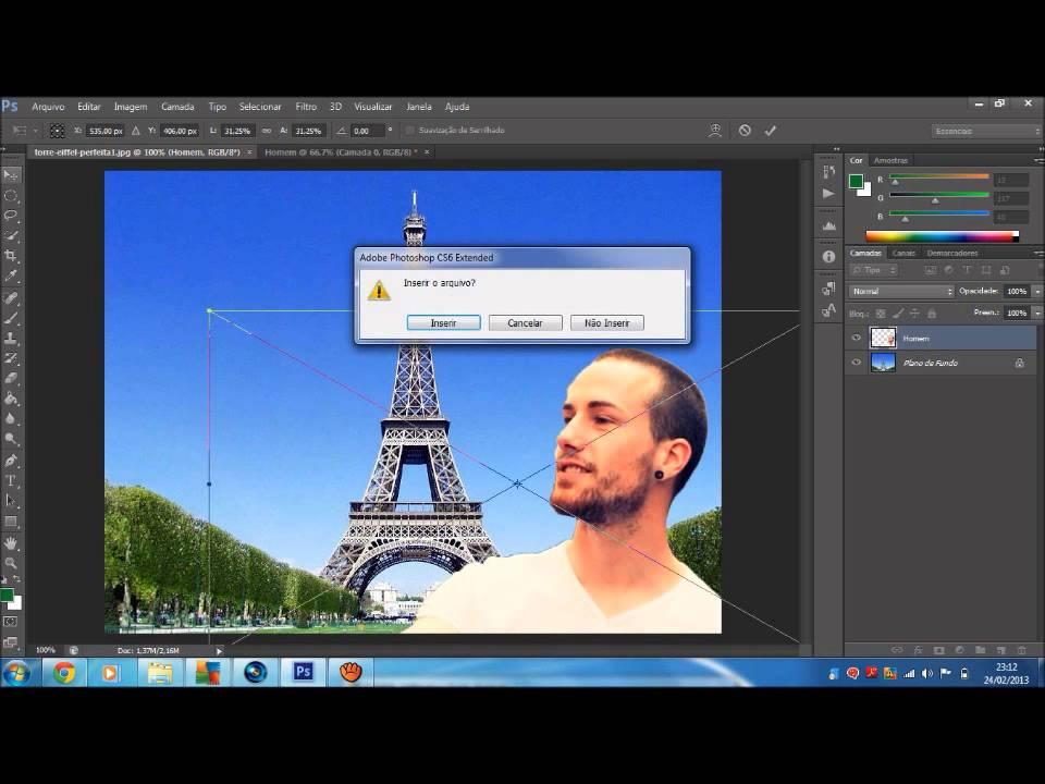 Como fazer painel de fotos no photoshop 63
