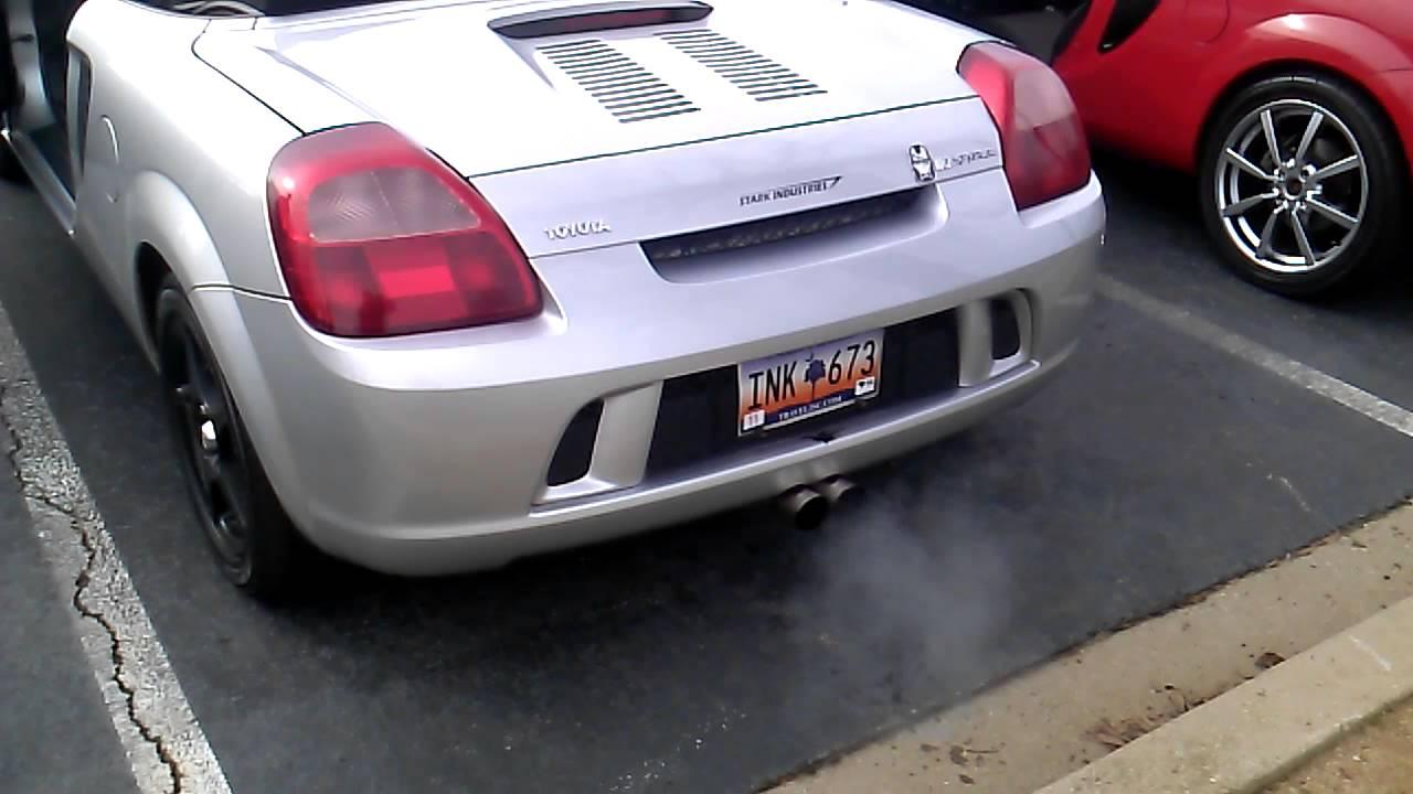 2001 Toyota MR2 Spyder Lotus Exhaust - YouTube