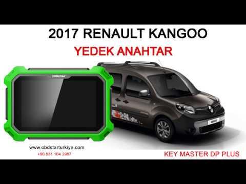 RENAULT 2017 KANGOO - YEDEK ANAHTAR - KEY MASTER DP PLUS