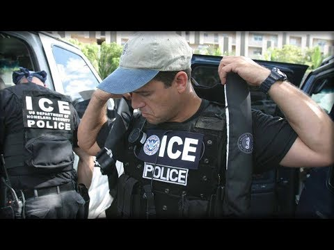 ILLEGALS REJOICE AS 1 POLICE FORCE CALLS OFF ICE AGENTS.... THIS IS OBSTRUCTION