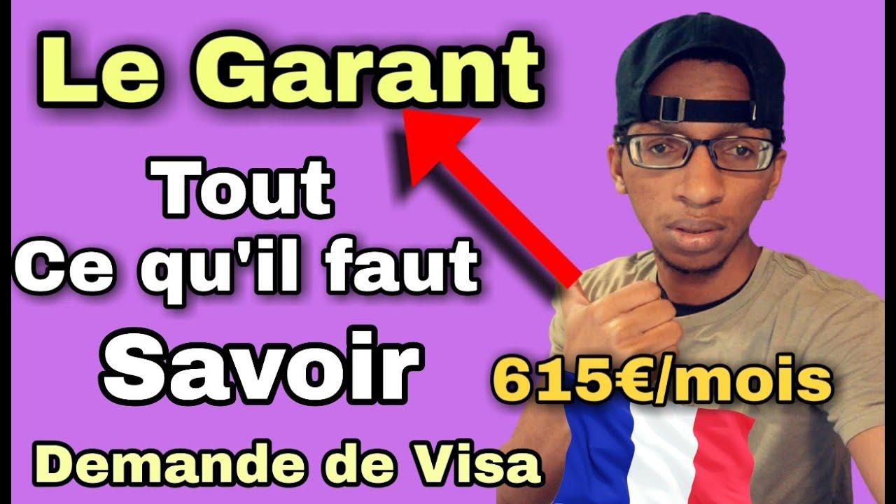 Download Le Garant, Prise En Charge : Demande de Visa France, je vous explique tout