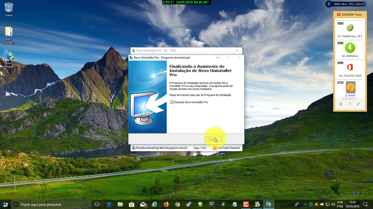 Revo Uninstaller Pro 3 2 0 Ativador Latest Version Youtube