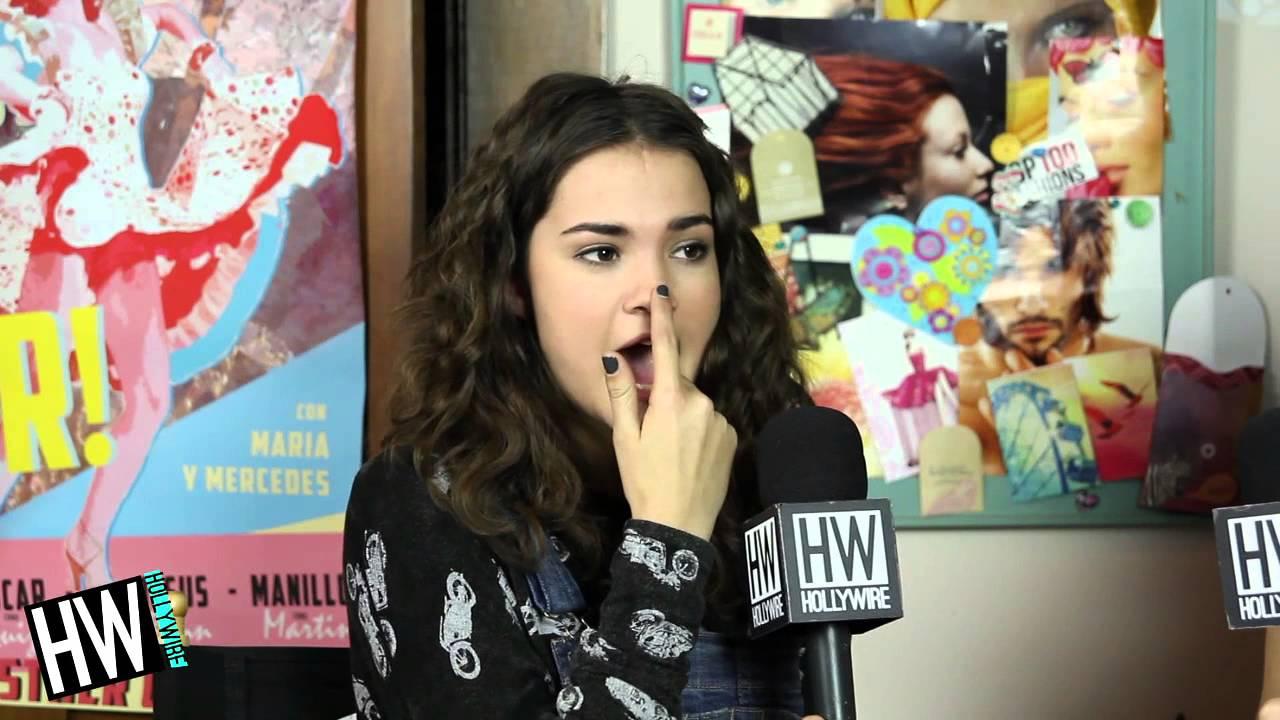maia mitchell reveals first celebrity crush amp nerdiest