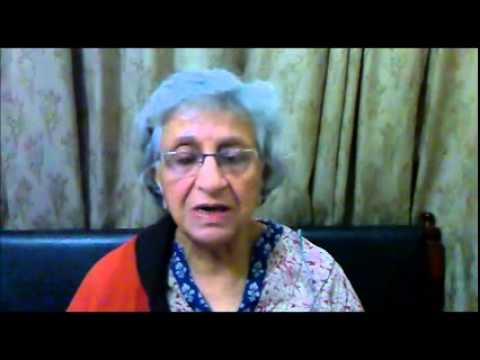 Mrs.Swadesh Chaddha  severe frozen shoulder relieved with Acupuncture