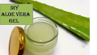 Wie man Aloe vera gel in 5 Minuten | für Haut & Haare | starnaturlbeauties