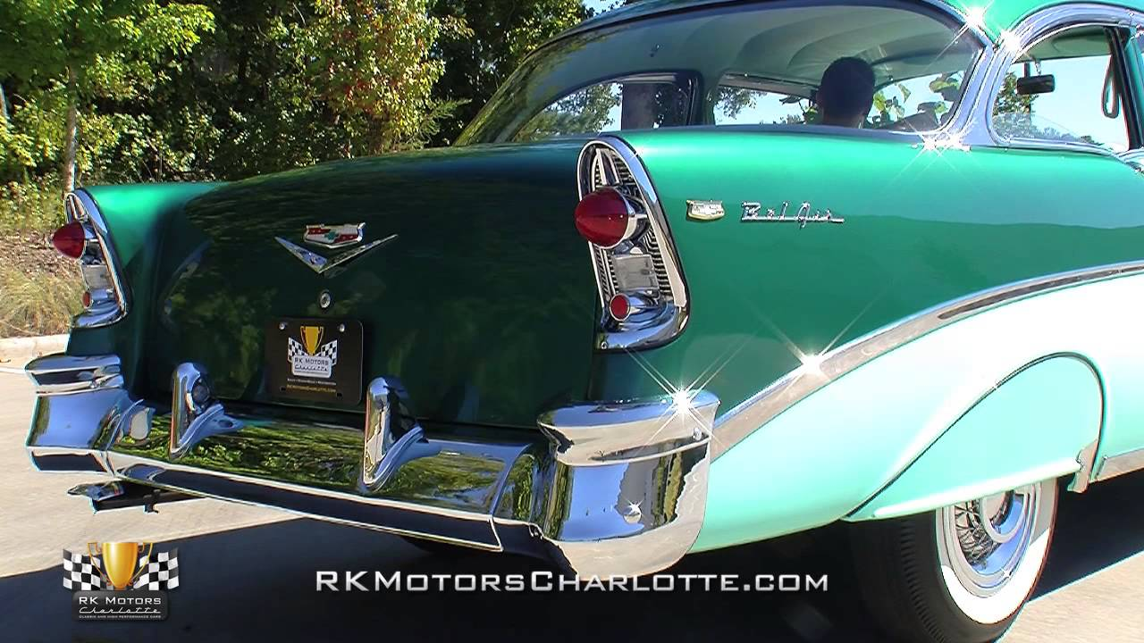 133310 1956 Chevrolet Bel Air Youtube
