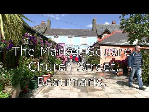The Market Square Beaumaris.