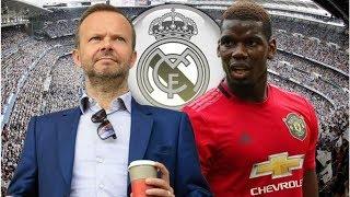 Paul Pogba to Real Madrid transfer twist as Ed Woodward opens Man Utd contract talks- transfer ne...