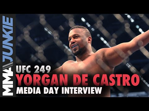 UFC 249: Yorgan De Castro media day interview