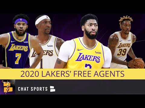Lakers News & Rumors: 2020 Free Agents For Los Angeles + Will Anthony Davis Re-sign with LA?