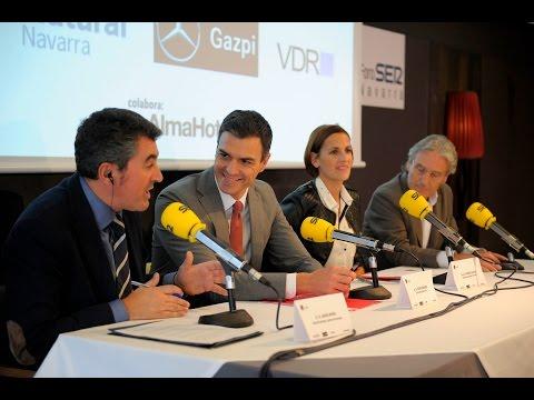 Pedro Sánchez ratifica el compromiso del PSOE con el Convenio Económico Navarro