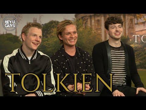 Anthony Boyle, Tom Glynn-Carney, Patrick Gibson & Director Dome Karukoski On Tolkien