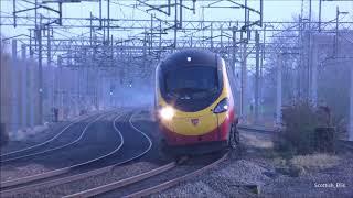 (4K) HD Trains at Tamworth 26/1/18