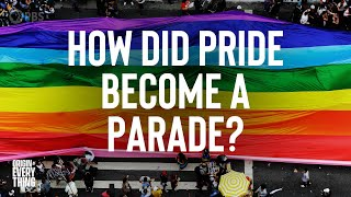 From Stonewall Riots To Raves: How Did Pride Become A Parade?